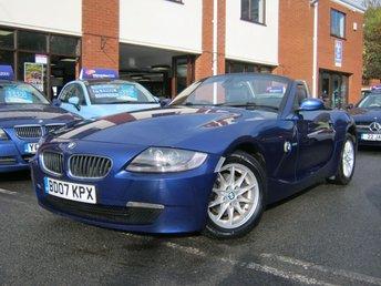 2007 BMW Z4 2.0 Z4 SE ROADSTER 2d 148 BHP £5495.00