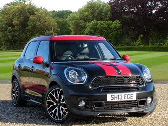 2013 MINI COUNTRYMAN 1.6 JOHN COOPER WORKS 5d 215 BHP £14696.00
