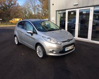 USED 2012 62 FORD FIESTA 1.4 TITANIUM AUTOMATIC THIS VEHICLE IS AT SITE 1 - TO VIEW CALL US ON 01903 892224