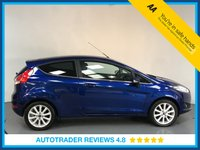 USED 2015 65 FORD FIESTA 1.6 TITANIUM 3d AUTO 104 BHP FULL FORD HISTORY - 1 OWNER - REAR SENSORS - BLUETOOTH - AIR CON - CRUISE - DAB - PRIVACY GLASS