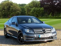 USED 2014 14 MERCEDES-BENZ C CLASS 1.6 C180 BLUEEFFICIENCY AMG SPORT 2d AUTO 154 BHP
