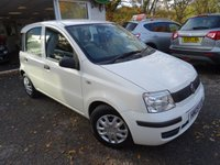 USED 2009 09 FIAT PANDA 1.1 ACTIVE ECO 5d 54 BHP Very Low Mileage! Comprehensive Service History, Recently Serviced, Two Previous Owners, MOT until July 2019, Great on fuel economy! Only £30 Road Tax! Lowest Insurance Group!