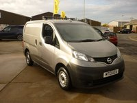 2013 NISSAN NV200 1.5 SE DCI  90 BHP PANEL VAN  ELECTIC WINDOWS REAR PARKING CAMERA AND MORE £4995.00