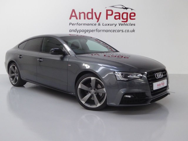 2015 65 AUDI A5 2.0 TDI S LINE BLACK EDITION PLUS 5d 187 BHP