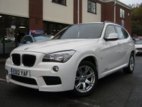 USED 2012 12 BMW X1 2.0 SDRIVE18D M SPORT 5d 141 BHP