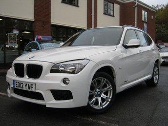 2012 BMW X1 2.0 SDRIVE18D M SPORT 5d 141 BHP £9995.00