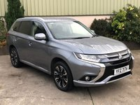 USED 2015 MITSUBISHI OUTLANDER 2.0 PHEV GX 3H 5d AUTO 161 BHP FULL SERVICE HISTORY, PRIVACY, ALLOYS, PARK SENSORS