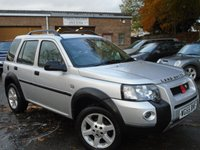 2005 LAND ROVER FREELANDER 2.0 TD4 HSE STATION WAGON 5d AUTO 110 BHP £2795.00