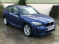 USED 2013 BMW X1 2.0 XDRIVE18D M SPORT 5d 141 BHP IMMACULATE INSIDE AND OUT, LEATHER, LOW MILES!!