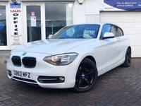 2012 BMW 1 SERIES 1.6 114I SPORT 3d 101 BHP £7975.00