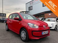 USED 2013 62 VOLKSWAGEN UP 1.0 MOVE UP BLUEMOTION TECHNOLOGY 3d 59 BHP £0 TAX | AIRCON | RAC BUYSURE
