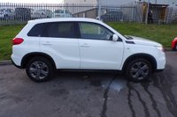 USED 2016 65 SUZUKI VITARA 1.6 SZ-T 5d 118 BHP STUNNING ICE WHITE PAINT WORK, CHARCOAL CLOTH INTERIOR, ALLOY WHEELS, BLUETOOTH PHONE CONNECTIVITY, AIR CON, CRUISE CONTROL, CD PLAYER, DAB RADIO, SAT NAV, LOVELY LOW MILEAGE EXAMPLE