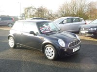 2006 MINI HATCH ONE 1.6 ONE 3d 89 BHP £2550.00