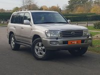 USED 2005 54 TOYOTA LAND CRUISER 4.2 TD 5d AUTO 201 BHP FSH 2 OWNERS LOW MILES VGC
