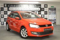 USED 2012 62 VOLKSWAGEN POLO 1.4 MATCH 3d 83 BHP ONE FORMER KEEPER with EXTENSIVE VOLKSWAGEN SERVICE RECORDS inc> 5 STAMPS IN THE BOOK, 12 MONTHS MOT and ONLY COVERED 32,000 MILES FROM NEW