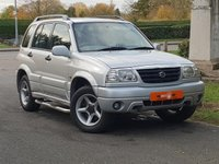 USED 2001 Y SUZUKI GRAND VITARA 2.5 V6 5d AUTO 142 BHP 2 OWNERS LOW MILEAGE ONLY 43K