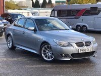 USED 2006 56 BMW 5 SERIES 3.0 530d M Sport 4dr Cruise/Sensors/Leather/2Keys