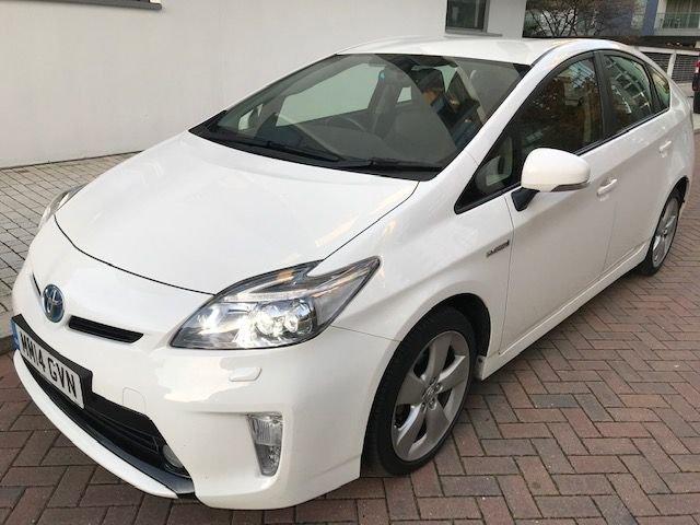 2014 14 TOYOTA PRIUS 1.8 T SPIRIT VVT-I 5d AUTO 99 BHP