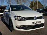 USED 2014 64 VOLKSWAGEN POLO 1.2 SE TSI 5d 89 BHP £20 RFL 60 MPG