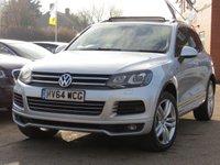 2014 VOLKSWAGEN TOUAREG 3.0 V6 R-LINE TDI BLUEMOTION TECHNOLOGY 5d AUTO 202 BHP £18995.00