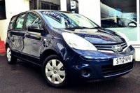 USED 2012 12 NISSAN NOTE 1.4 VISIA 5d 88 BHP LOVELY LOW MILEAGE NISSAN NOTE