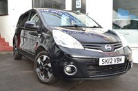 2012 NISSAN NOTE 1.4 N-TEC PLUS 5d 88 BHP