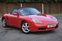 USED 1998 PORSCHE BOXSTER 2.5 SPYDER 2d 201 BHP HPI CLEAR DRIVES GOOD VGC