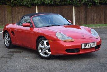 1998 PORSCHE BOXSTER 2.5 SPYDER 2d 201 BHP £2990.00