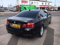 USED 2013 63 BMW 5 SERIES 2013/63 2.0 520d SE *** FULL SERVICE HISTORY *** BLACK LEATHER *** SAT NAV ***