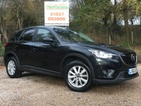 USED 2013 62 MAZDA CX-5 2.2 D SE-L 5dr AUTO Sat Nav, Cruise, PDC
