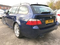 """USED 2009 59 BMW 5 SERIES 3.0 525D M SPORT BUSINESS EDITION TOURING 5 DOOR ESTATE, NAV  19"""" BMW SPIDER ALLOYS, STUNNING LOOKING ESTATE,"""
