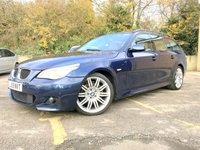 2009 BMW 5 SERIES 3.0 525D AUTO M SPORT BUSINESS EDITION TOURING 5 DOOR ESTATE, NAV  £7990.00