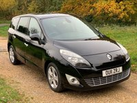USED 2011 11 RENAULT SCENIC 1.5 DYNAMIQUE TOMTOM DCI 5d 110 BHP Low Tax, 7 Seater, 65MPG