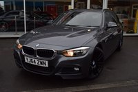 USED 2014 64 BMW 3 SERIES 2.0 320D M SPORT TOURING 5d 181 BHP FINANCE TODAY WITH NO DEPOSIT