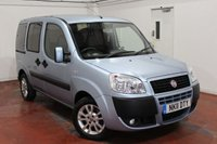 2011 FIAT DOBLO 1.4 8V DYNAMIC WITH WHEELCHAIR ACCESS AND FREE MOBILITY SCOOTER 5d 77 BHP £5995.00