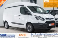 2014 FORD TRANSIT CUSTOM 2.2 290 L2 H2  LWB HIGH ROOF *INTERNAL RACKING SYSTEM INCLUDED* £10995.00