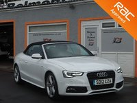 USED 2012 12 AUDI A5 2.0 TDI S LINE S/S 2d 177 BHP 5 Service Stamps - Full Leather - Bluetooth -