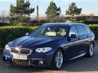 2016 BMW 5 SERIES 2.0 520D M SPORT TOURING 5d AUTO 188 BHP £16795.00
