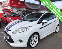 USED 2011 11 FORD FIESTA 1.6 S1600 3d 132 BHP *ONLY 74,000 MILES*