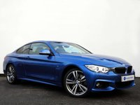 USED 2014 14 BMW 4 SERIES 3.0 435D XDRIVE M SPORT 2d AUTO 309 BHP 1 Owner From New with Full BMW Service History & a Very Full Specification