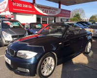 2012 BMW 1 SERIES 2.0 118D M SPORT CONVERTIBLE *ONLY 57,000 MILES* £8495.00