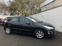 2013 PEUGEOT 308 1.6 HDI ACTIVE NAVIGATION VERSION 5d 92 BHP £5495.00