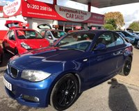 2009 BMW 1 SERIES 2.0 120D M SPORT AUTOMATIC COUPE 175 BHP £6695.00