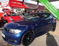 USED 2009 59 BMW 1 SERIES 2.0 120D M SPORT AUTOMATIC COUPE 175 BHP