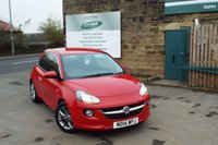USED 2014 14 VAUXHALL ADAM 1.2 JAM 3d 69 BHP Two Owners Vauxhall Service Service History