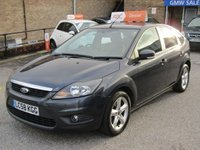 USED 2008 58 FORD FOCUS 1.6 ZETEC 5d AUTO 100 BHP