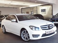 USED 2015 15 MERCEDES-BENZ C CLASS 2.1 C220 CDI AMG SPORT EDITION 2d 168 BHP ++LOW MILES+XENONS+FMBSH++