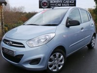 USED 2011 61 HYUNDAI I10 1.2 CLASSIC 5d 85 BHP Low Miles - £20 Tax - 5 Services - Air Con