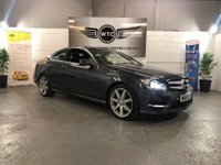 USED 2013 63 MERCEDES-BENZ C CLASS 2.1 COUPE C220 CDI BLUEEFFICIENCY AMG SPORT