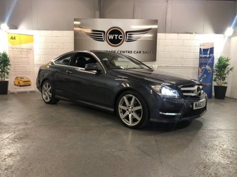 2013 MERCEDES-BENZ C CLASS 2.1 COUPE C220 CDI BLUEEFFICIENCY AMG SPORT £10795.00